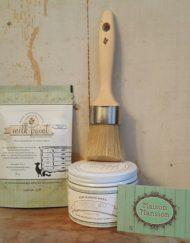 Wax kwast Miss Mustard Seed ook voor Milkpaint of de olie