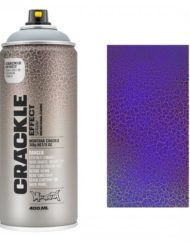 Montana CRACKLE EFFECT Spray Gentian Blauw RAL 5010 400ml