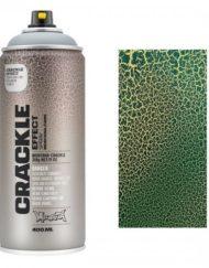 Montana CRACKLE EFFECT Spray Platina groen RAL 6000 400ml