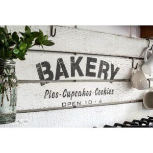 sjabloon, Bakery Funky junk, Funky Junk sjabloon