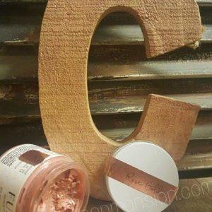 metalic wax, metallic wax, rose wax, rose gold wax, Fusion wax