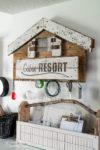 Funky junk old stencils, Funky junk sjablonen, Cabin resort sjablonen