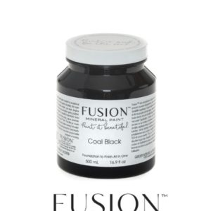 Fusion Mineral Paint Coal Black 500 ml