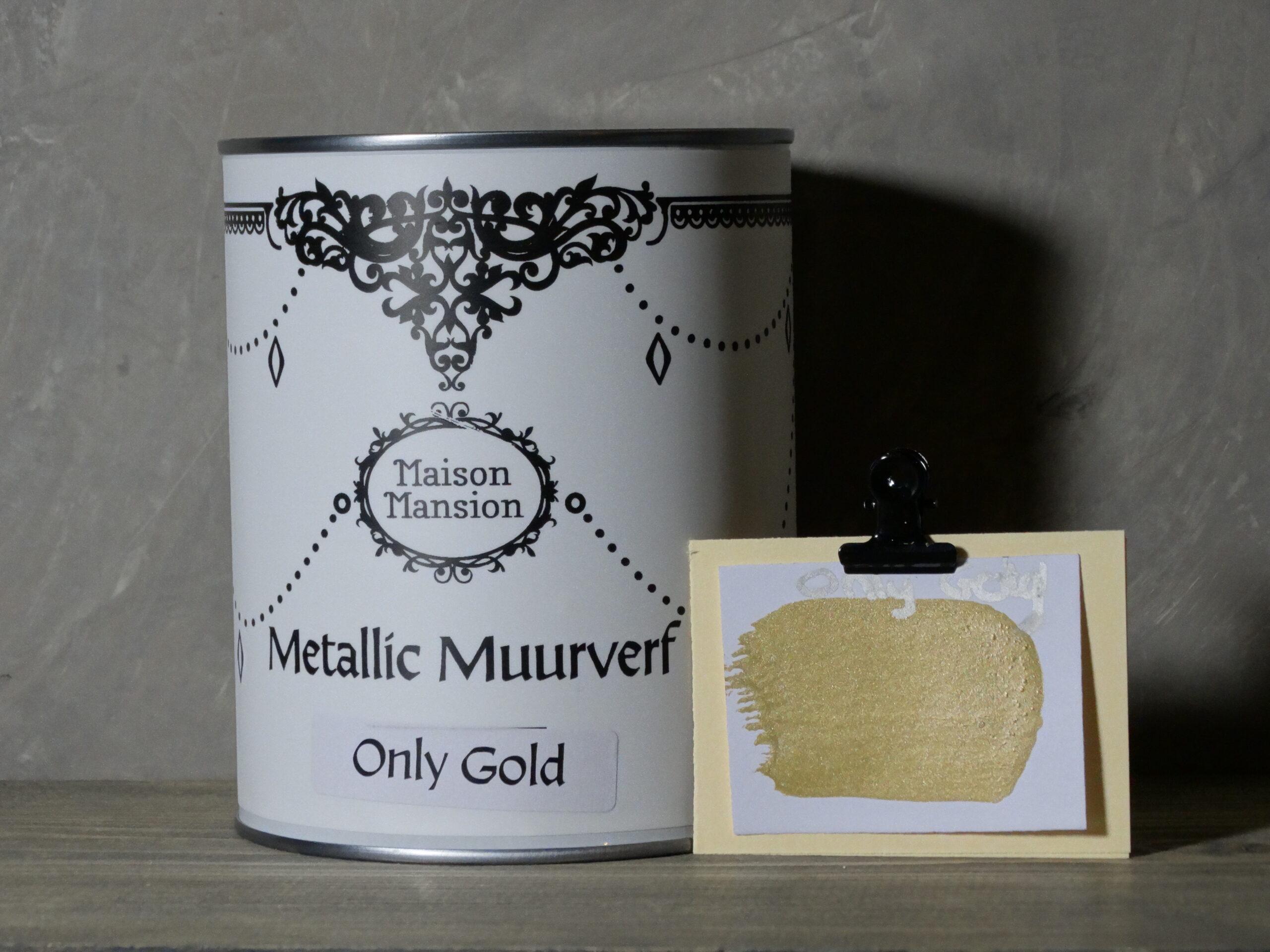 Metallic muurverf