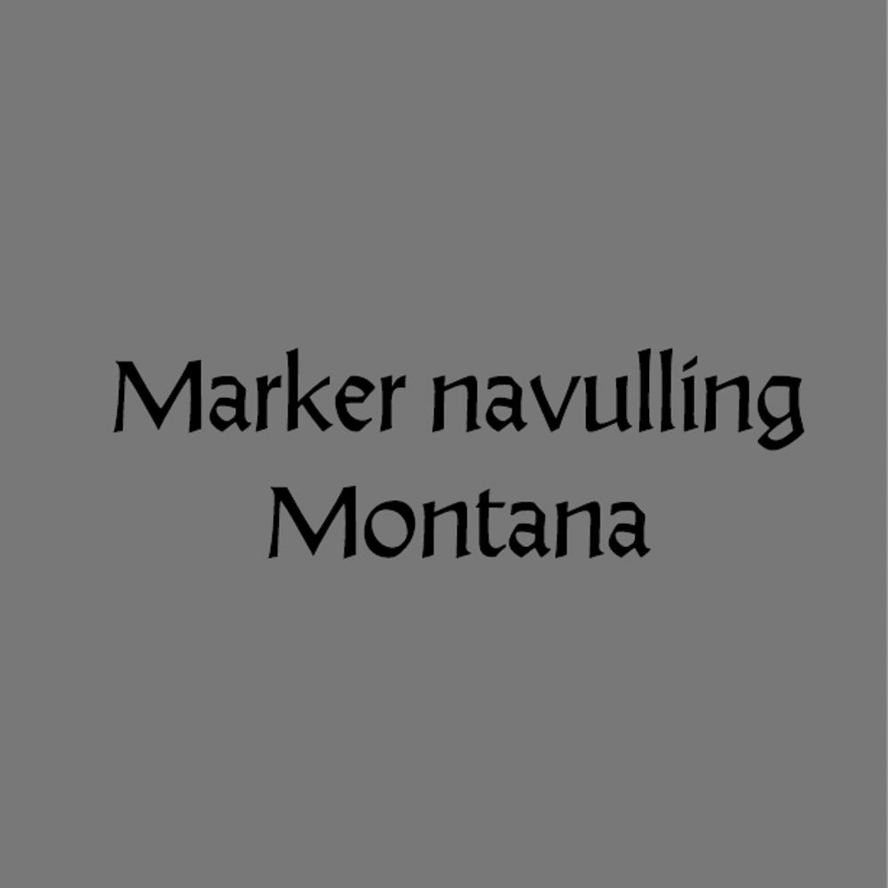 Marker Navulling Montana